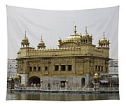 The Golden Temple In Amritsar Tapestry