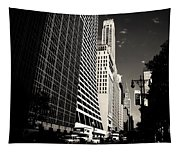 The Grace Building And The Chrysler Building - New York City Tapestry