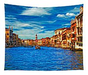 The Grand Canal Impasto Tapestry