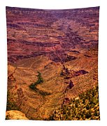 The Grand Canyon From Bright Angel Lodge Tapestry