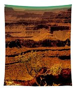 The Grand Canyon Vintage Americana Vi Tapestry