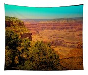 The Grand Canyon Vintage Americana Vii Tapestry