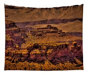 The Grand Canyon Vintage Americana Viii Tapestry