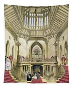 The Grand Staircase, Windsor Castle Tapestry