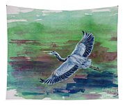 The Great Blue Heron Tapestry