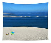The Great Dune Of Pila In Arcachon Bay Tapestry