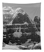 1m3752-bw-the Great North Face Of North Twin Tapestry