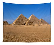 The Great Pyramids Giza Egypt Tapestry