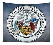 The Great Seal Of The State Of Arkansas Tapestry