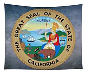 The Great Seal Of The State Of California Tapestry