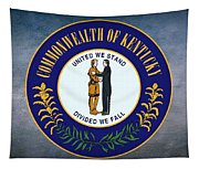 The Great Seal Of The State Of Kentucky  Tapestry