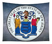 The Great Seal Of The State Of New Jersey Tapestry