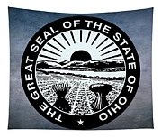 The Great Seal Of The State Of Ohio  Tapestry