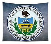 The Great Seal Of The State Of Pennsylvania  Tapestry