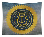 The Great Seal Of The State Of Rhode Island Tapestry