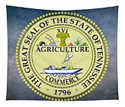 The Great Seal Of The State Of Tennessee Tapestry