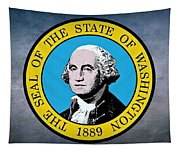 The Great Seal Of The State Of Washington Tapestry