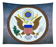 The Great Seal Of The United States  Tapestry