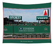 The Green Monster Fenway Park Tapestry