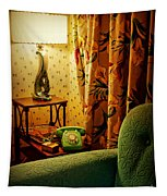 The Green Phone Tapestry