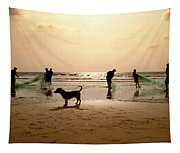 The Guardian Dog Tapestry