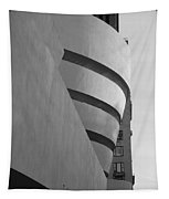 The Guggenheim In Black And White Tapestry