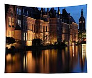 The Hague By Night Tapestry