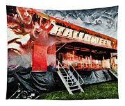 The Halloween Ride Tapestry