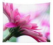 The Happy Flower Pink Daisy Tapestry