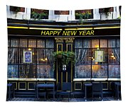 The Happy New Year Pub Tapestry