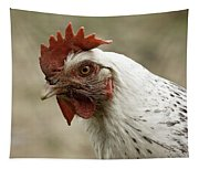 The Head Of A Rooster Tapestry
