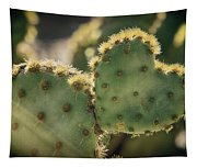 The Heart Of A Cactus  Tapestry