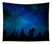 The Heavens Are Declaring Gods Glory Mural Tapestry