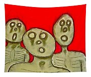 The Hollow Men 88 - Three Walkers Tapestry