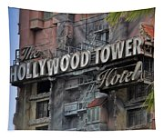 The Hollywood Hotel Signage Tapestry