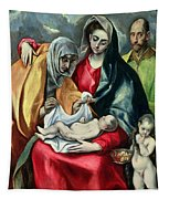 The Holy Family With St Elizabeth Tapestry
