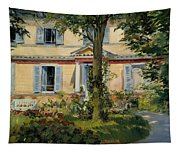 The House At Rueil Tapestry