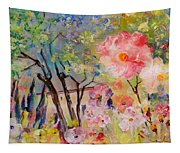 The House Of The Rising Flowers Tapestry
