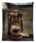 The Hurricane Lamp Tapestry
