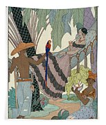 The Idle Beauty Tapestry