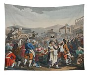 The Idle Prentice Executed At Tyburn Tapestry