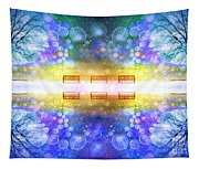 The Illusion Benches Tapestry