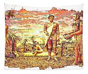 The Indian Tribe Tapestry