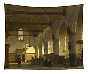 The Interior Of The Bakenesserkerk. Haarlem Tapestry