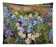The Iris Bed Tapestry