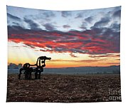 The Iron Horse Early Dawn The Iron Horse Collection Art Tapestry