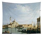 The Island Of San Giorgio Maggiore Tapestry