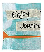 The Journey Tapestry by Linda Woods