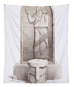 The King And Sacrificial Altar, Nimrud Tapestry