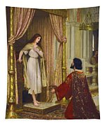 The King And The Beggar-maid Tapestry